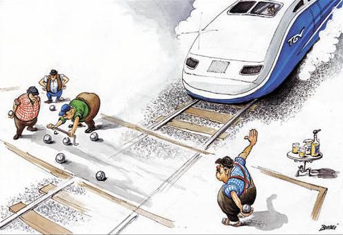 LGV, Pas SANS Nous!!! traversduvillage