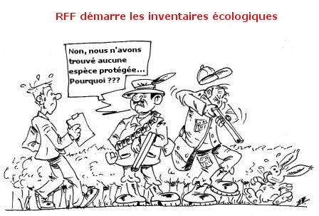 RFF démarre les inventaires écologiques dans LGV bordeaux toulouse chasseursetlapin